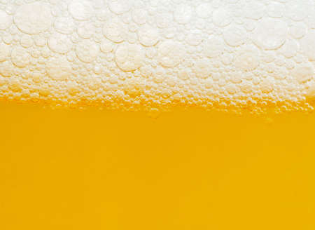 Macro of a beer