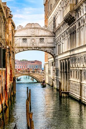 Bridge of Sighs - Ponte dei Sospiri in Venice, Italy Stockfoto