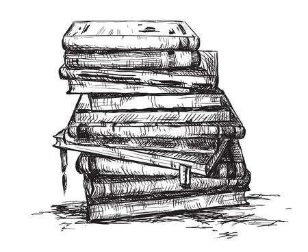 Una pila di libri Archivio Fotografico - 24352503