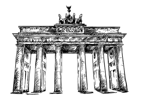 Brandenburg Gate sketch