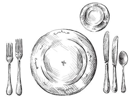 テーブルの設定