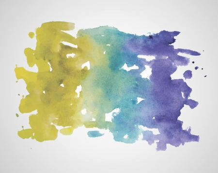 brushstrokes: abstract hand drawn watercolor