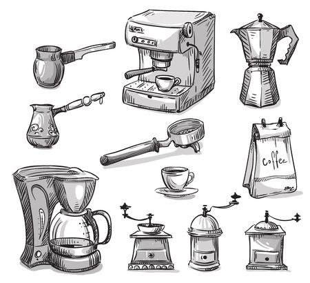 설정 커피 장비