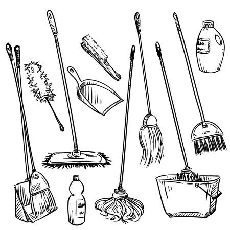 dustpan: Mops