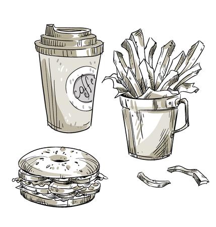 takeaway: Lunch. Fast food. Takeaway.