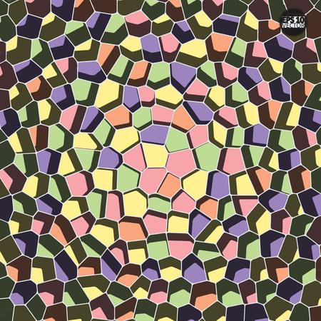 Vector stone pattern. Abstract mosaic pattern. Eps10 Vector illustration.