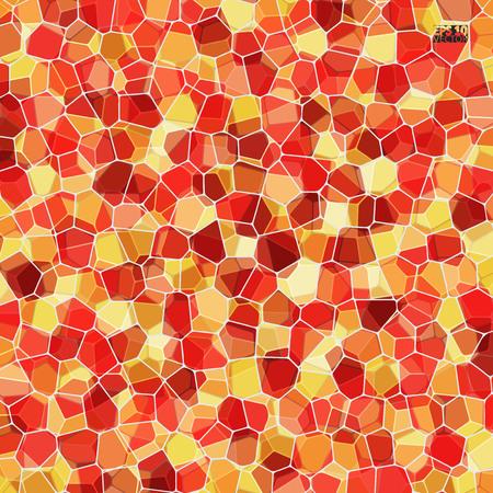 Vector stenen patroon. Abstract mozaïekpatroon. Eps10 Vector illustratie.