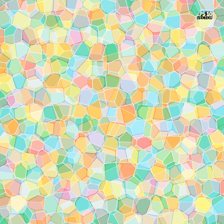 Vector stone pattern. Abstract mosaic pattern. Eps10 Vector illustration. Illustration