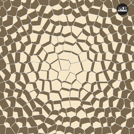 Vector stone pattern. Abstract mosaic pattern.