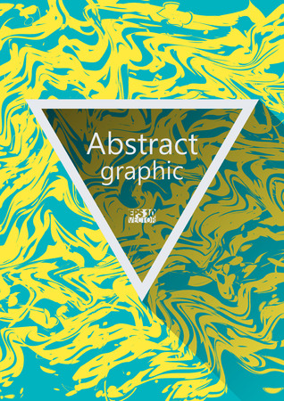 distortion: Abstract background with ripple. Creative fluid colors background. Eps10 Vector illustration