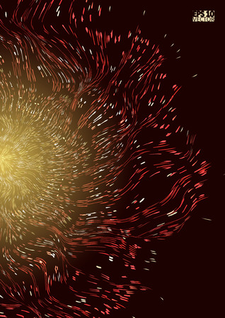 Abstract star background with defocused lights. Eps10 Vector illustration.