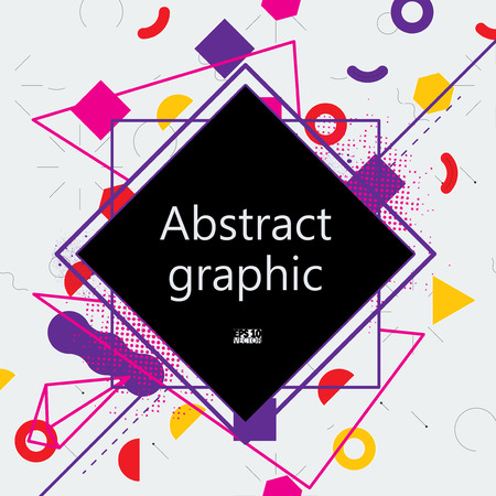 Abstract background with geometric elements.