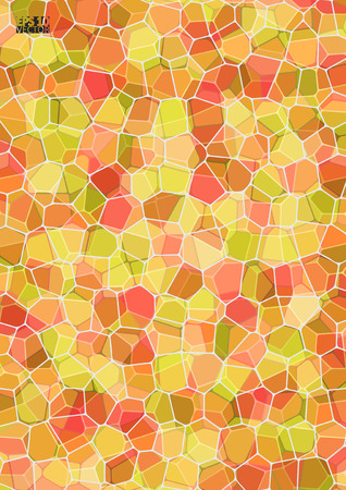 Graphic illustration with geometric pattern. Abstract mosaic pattern. Eps10 Vector illustration.