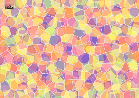 Abstract background with impossible figure. Eps10 vector illustration. Illustration