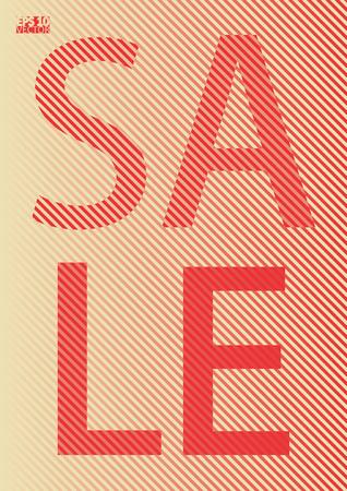 Sale banner template design. Cool halftone gradients. Eps10 Vector illustration. Illustration