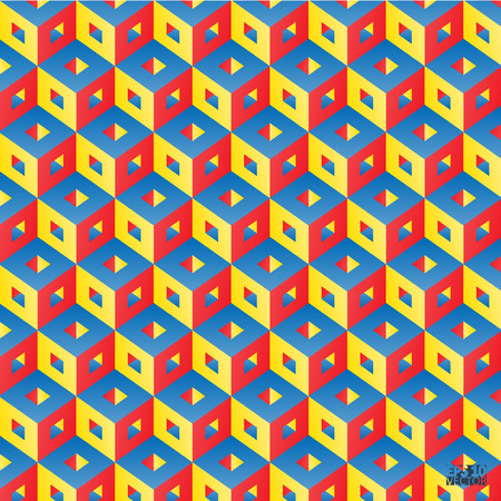 Abstract background with cubes. Eps10 vector illustration.