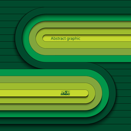 Modern and bright background with 3D stripes. Eps10 Vector illustration