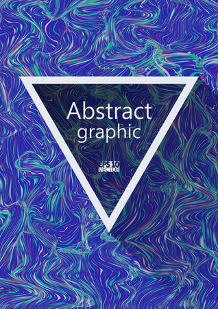 Abstract background with ripple. Creative fluid colors background. Eps10 Vector illustration