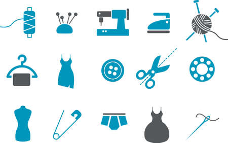 Vector icons pack - Blue Series, taylor collection Vector