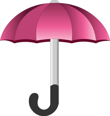 An bubbletop umbrella, in  lines Stock Vector - 6380962