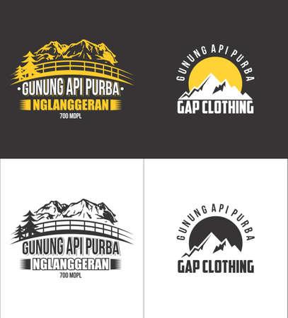 api: gunung api purba is one of the mountains in Yogyakarta