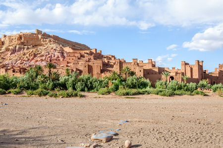 fortified: Fortified city of Ait Ben Haddou, Morocco