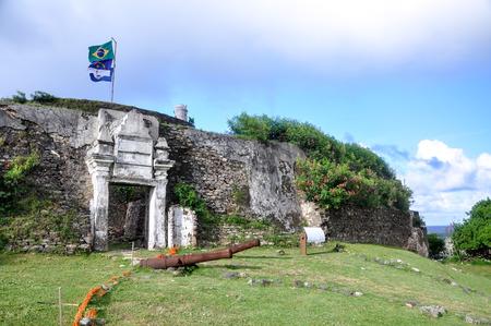 senhora: Fort of Nossa Senhora dos Remedios, Fernando de Noronha, Pernambuco  Brazil