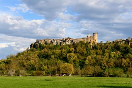 lazio: Castle and city of Mugnano,  Lazio  Italy