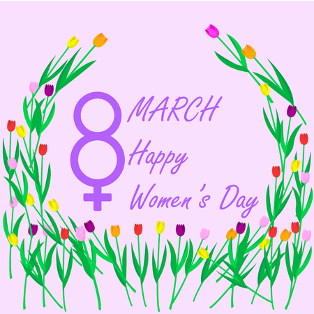 The eighth of March, International Womens Day,
