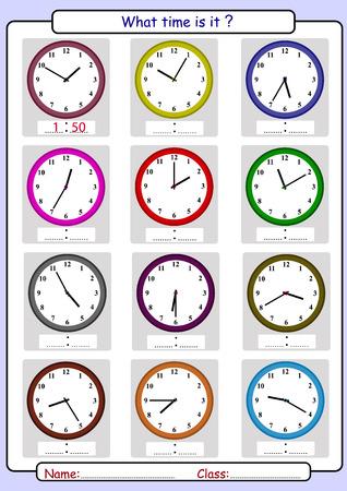 Dire l'heure, dessiner le temps