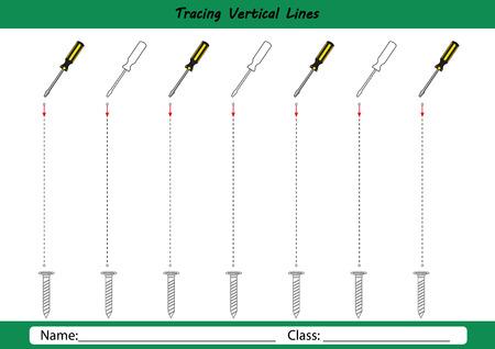 Volg de lijnen met je potlood