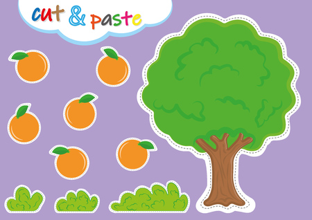 actividades de cortar y pegar para jardín de infantes, preescolar cortar y pegar hojas de trabajo para niños