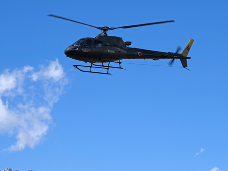 Muktinath, Nepal - March 17,2014: Rescue operation Nepal Editorial