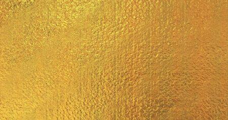Metallic gold wallpaper. Golden foil background. Magical Happy new year texture. 3D rendering image Stock fotó