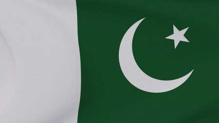 flag Pakistan patriotism national freedom , 3D illustration