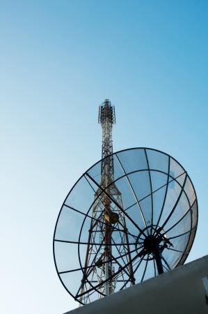 Satellite dish Stock Photo - 14187650