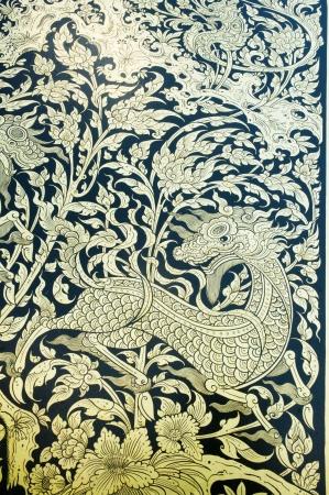 Thai Mural photo