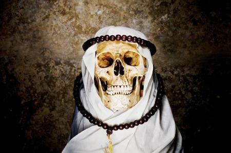 Arabian skull photo