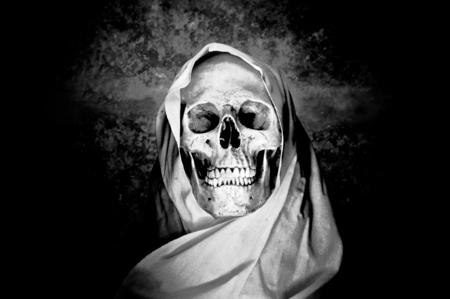 Ghost skull photo