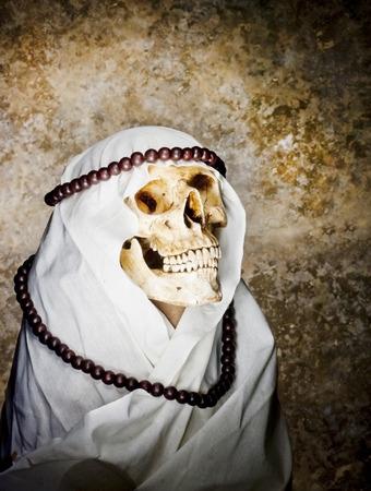 Arabian Ghost skull photo