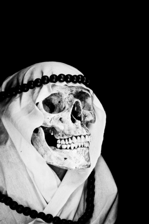 Arabian Ghost Skull photo
