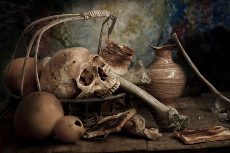 cadaver: Still Life with a Skull