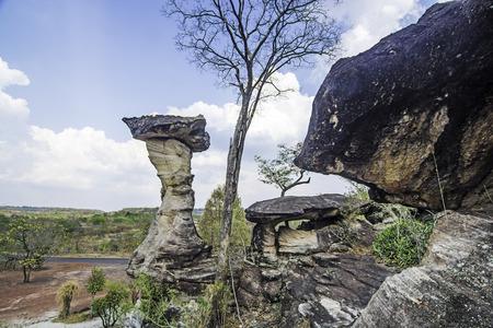 timna: sandstone pillars