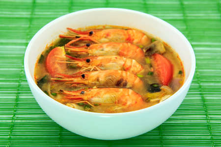 Thai food Tom Yum kung photo