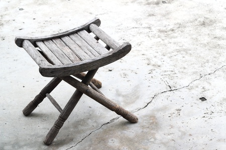 Old wooden chair background Stock Photo - 17792770