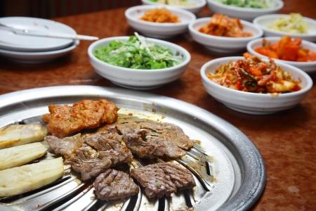 korean: Korean cuisine   barbecue grill