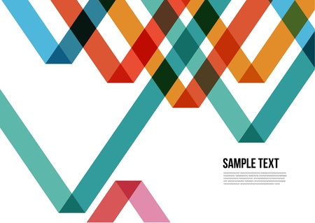Abstract Colorful Triangle Pattern   Background , Cover , Layout , Magazine, Brochure , Poster , Website , Namecard , etc  Vector