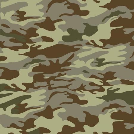 Militaire camouflage achtergrond Stock Illustratie
