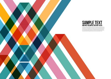 namecard: Abstract Colorful Triangle Pattern   Background , Cover , Layout , Magazine, Brochure , Poster , Website , Namecard , etc