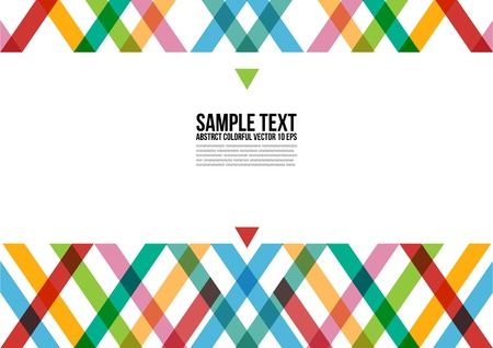 Abstract Colorful Triangle Pattern   Background , Cover , Layout , Magazine, Brochure , Poster , Website , Name card , etc